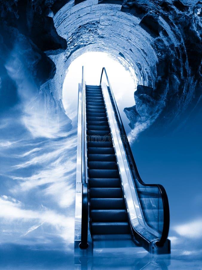κυλιόμενη σκάλα στοκ φωτογραφία με δικαίωμα ελεύθερης χρήσης