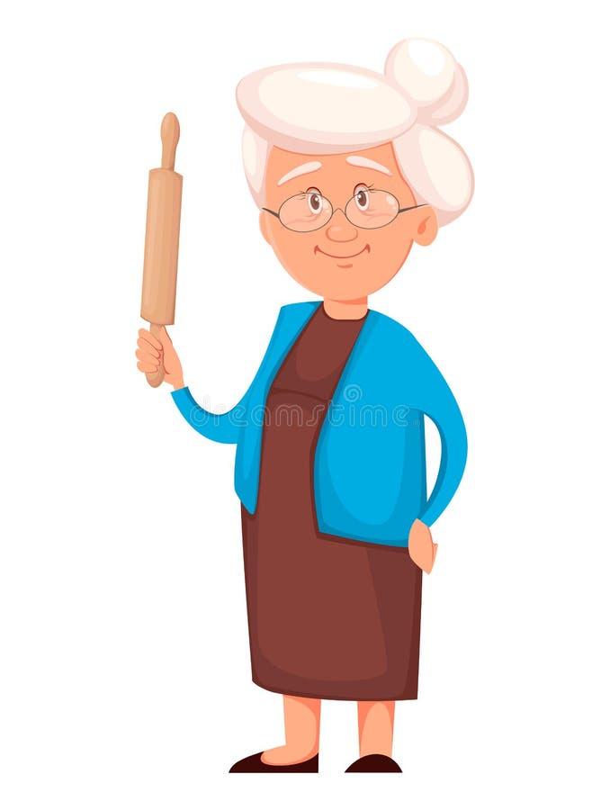 Κυλώντας καρφίτσα εκμετάλλευσης γιαγιάδων r απεικόνιση αποθεμάτων