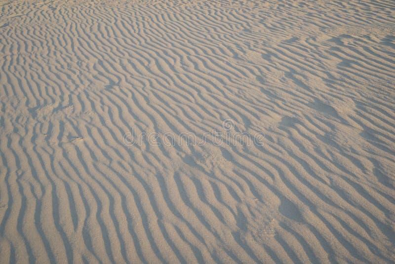 Κυματισμοί και κύματα στην άμμο σε μια παραλία στοκ φωτογραφίες με δικαίωμα ελεύθερης χρήσης