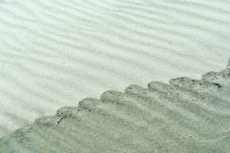 Κυματισμοί στην άμμο, αμμώδης σύσταση στοκ φωτογραφία με δικαίωμα ελεύθερης χρήσης