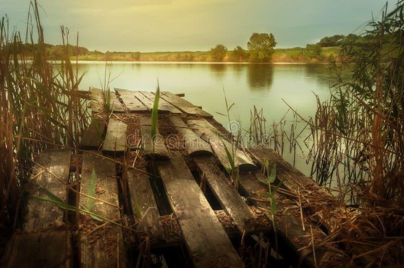 Κυματισμοί στον ποταμό στην ηλιόλουστη θερινή ημέρα στοκ εικόνα με δικαίωμα ελεύθερης χρήσης