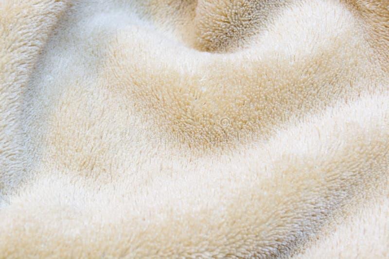 Κυματιστή σύσταση πετσετών στοκ φωτογραφία με δικαίωμα ελεύθερης χρήσης