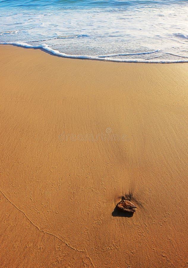 κυματωγή θάλασσας άμμου & στοκ φωτογραφία με δικαίωμα ελεύθερης χρήσης