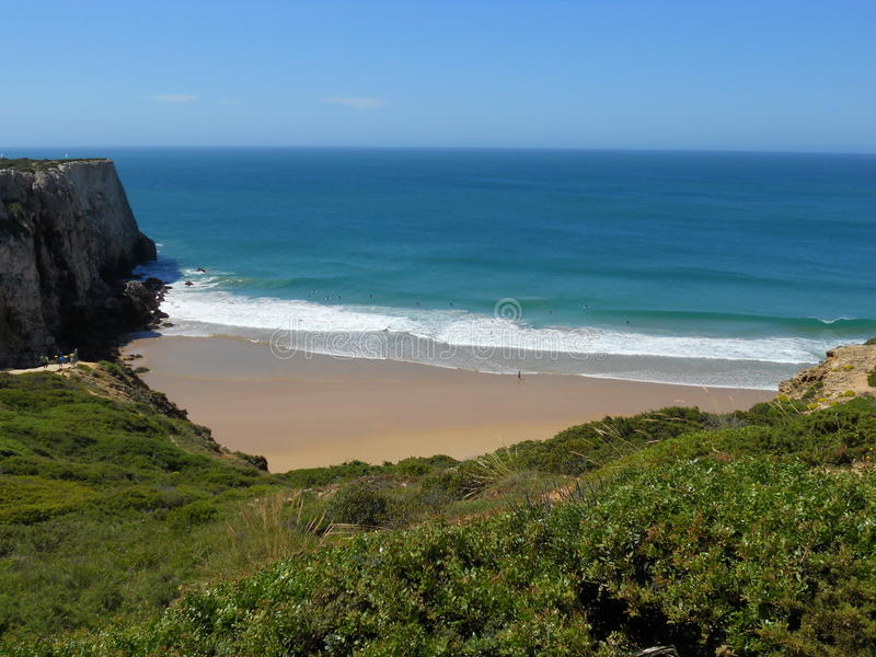 κυματωγή της Πορτογαλία& στοκ εικόνες με δικαίωμα ελεύθερης χρήσης