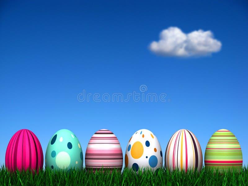 κυνήγι αυγών Πάσχας απεικόνιση αποθεμάτων