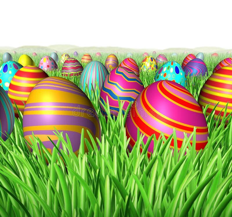 κυνήγι αυγών απεικόνιση αποθεμάτων