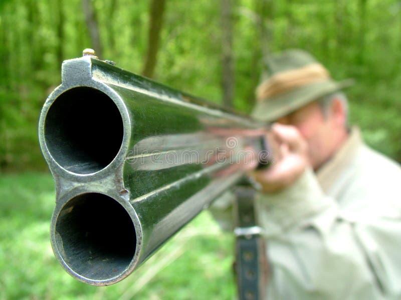 κυνηγός στοκ εικόνα