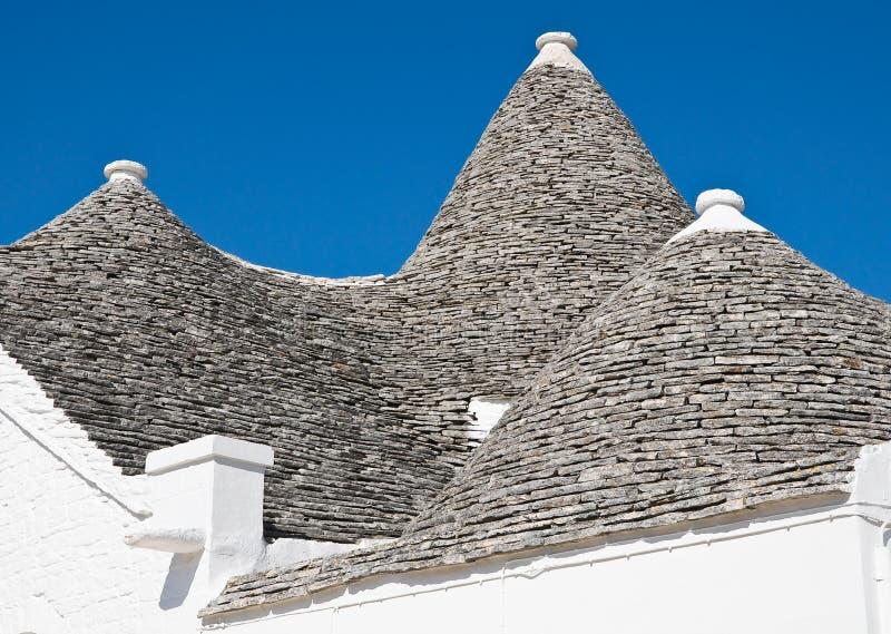 Κυρίαρχο trullo. Alberobello. Πούλια. Ιταλία. στοκ εικόνα με δικαίωμα ελεύθερης χρήσης