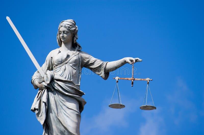 κυρία δικαιοσύνης στοκ εικόνες