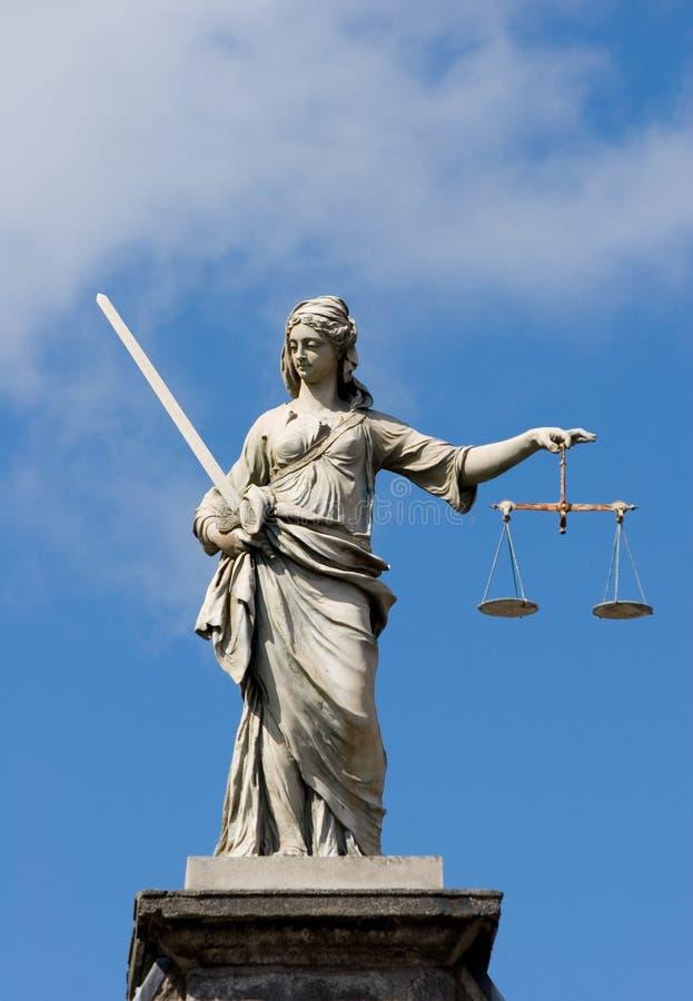 κυρία δικαιοσύνης στοκ εικόνα με δικαίωμα ελεύθερης χρήσης