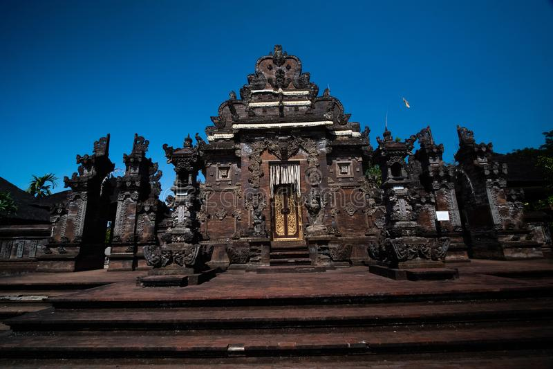 Κυρία είσοδος του ναού Pura Ulun Danu Bratan στο Μπαλί στοκ φωτογραφίες με δικαίωμα ελεύθερης χρήσης