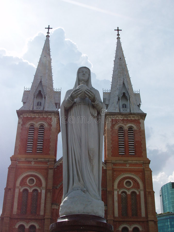 κυρία καθεδρικών ναών notre στοκ φωτογραφίες