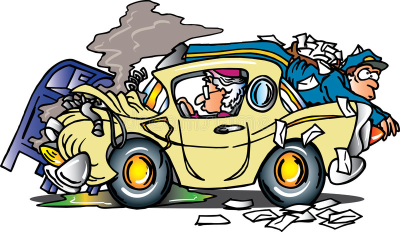 κυρία οδηγών γηραιή απεικόνιση αποθεμάτων