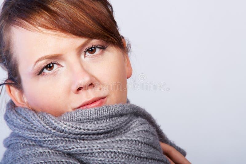 κυρία περιλαίμιων στοκ φωτογραφία με δικαίωμα ελεύθερης χρήσης