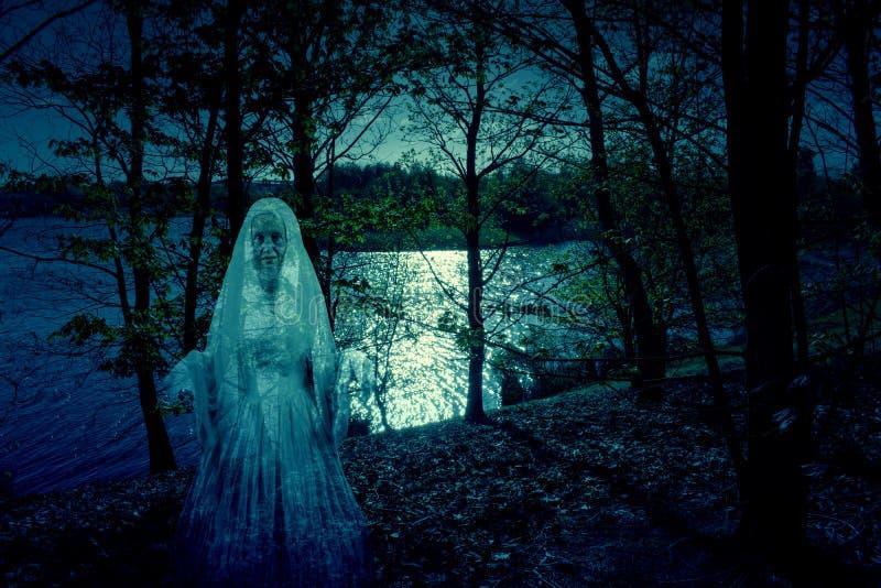 Κυρία του φαντάσματος λιμνών στοκ φωτογραφία με δικαίωμα ελεύθερης χρήσης