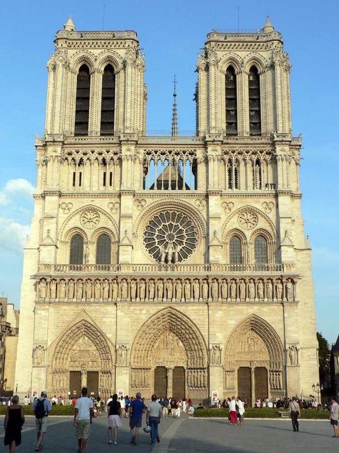 κυρία de notre Παρίσι στοκ φωτογραφία με δικαίωμα ελεύθερης χρήσης