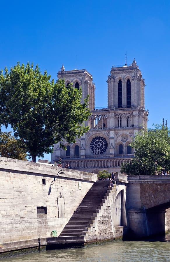 κυρία de notre Παρίσι στοκ εικόνες με δικαίωμα ελεύθερης χρήσης