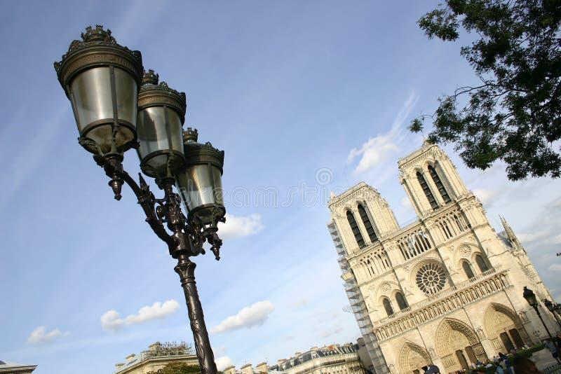κυρία de notre Παρίσι στοκ εικόνα