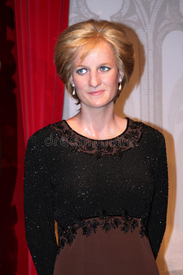 κυρία Diana η κυρία s tussaud στοκ εικόνες με δικαίωμα ελεύθερης χρήσης