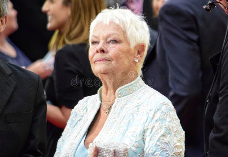 Κυρία Judy Dench στοκ εικόνες