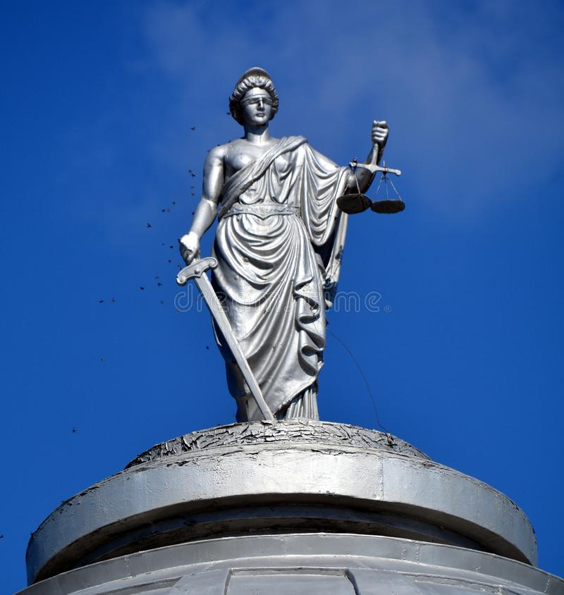Κυρία Justice στοκ εικόνα
