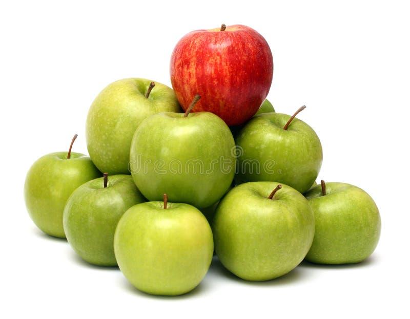 κυριαρχία εννοιών μήλων στοκ εικόνες με δικαίωμα ελεύθερης χρήσης