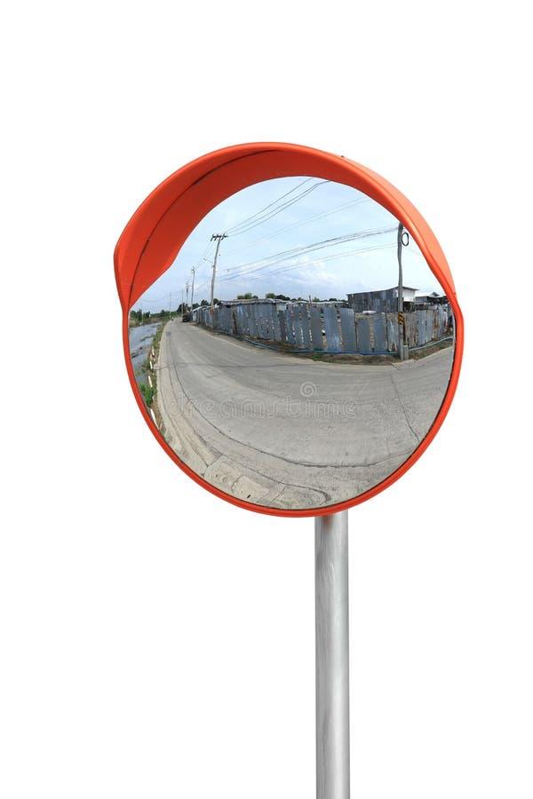 Κυρτός καθρέφτης στοκ εικόνες