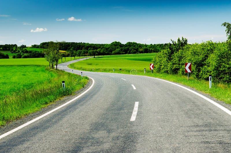 κυρτός δρόμος στοκ εικόνες με δικαίωμα ελεύθερης χρήσης
