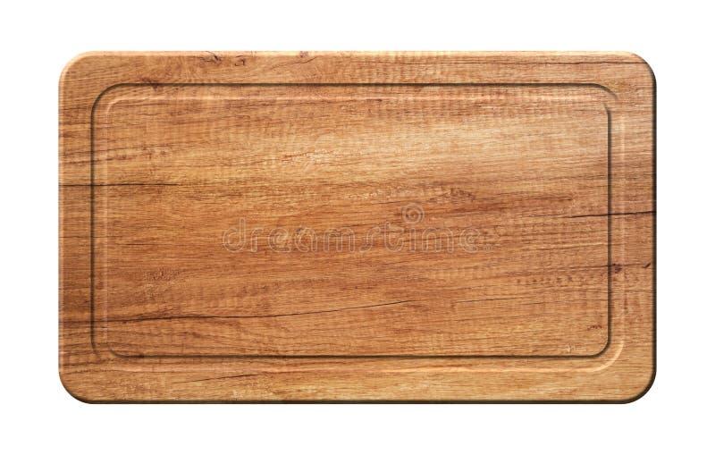 Κυρτός τέμνων πίνακας κουζινών φιαγμένος από φυσικό ξύλο στοκ εικόνες