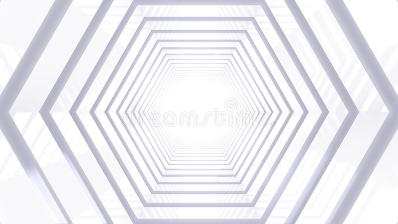 Κυψελοειδής σκηνή στοκ εικόνες