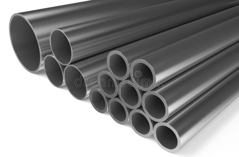 Κυλημένο μέταλλο, σωλήνες 2 απεικόνιση αποθεμάτων