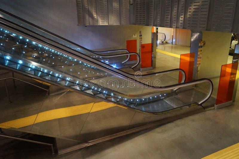 Κυλιόμενες σκάλες σε Napoli στοκ φωτογραφία