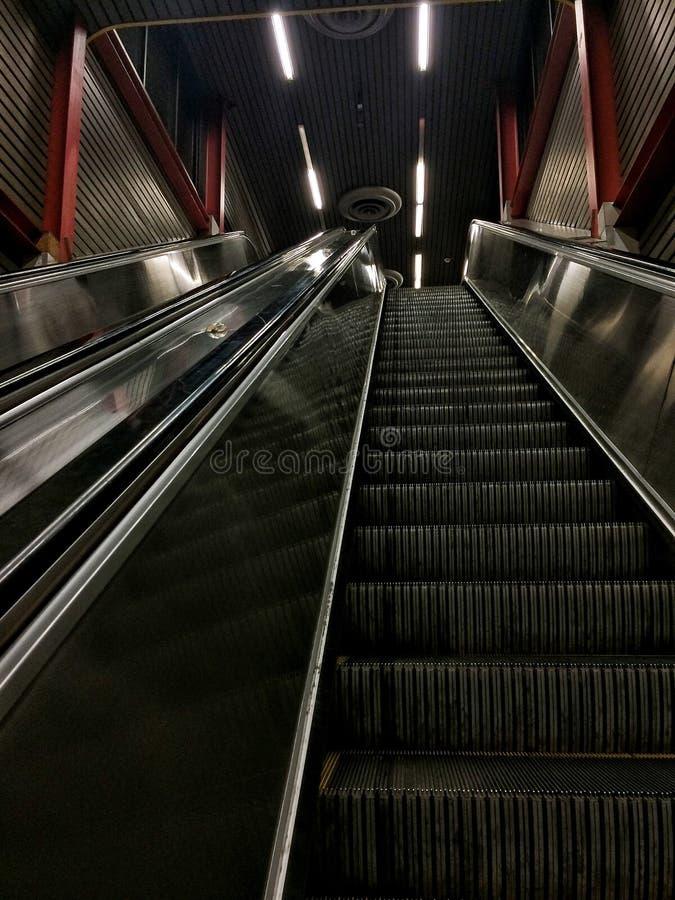 1 κυλιόμενη σκάλα στοκ εικόνες