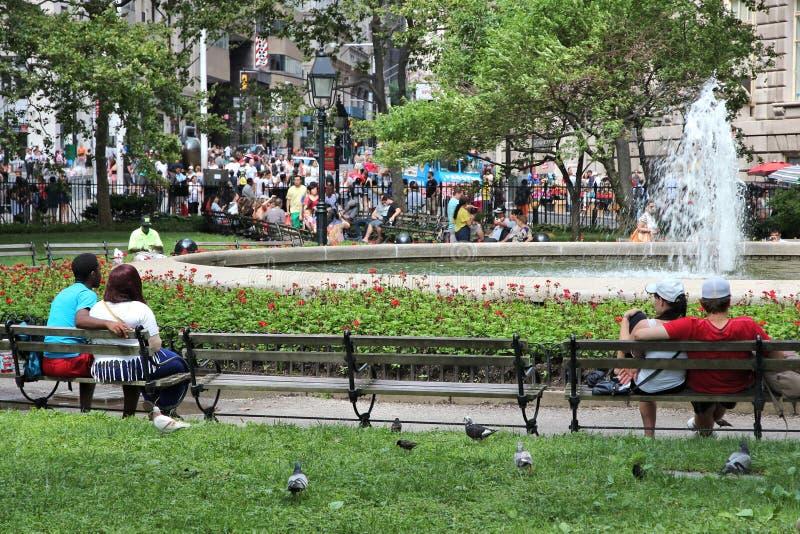 Κυλώντας πράσινο πάρκο στοκ εικόνα