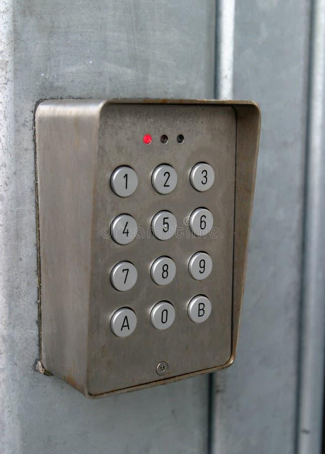 κωδικοποιημένο κλείδωμ& Στοκ Φωτογραφία