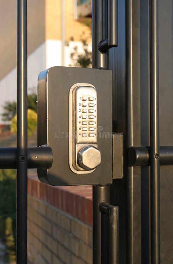 κωδικοποιημένο κλείδωμ& στοκ εικόνες με δικαίωμα ελεύθερης χρήσης