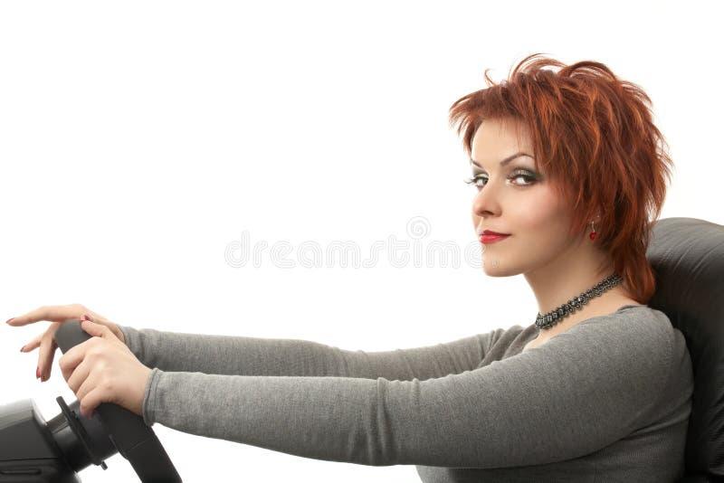 κωμικός οδηγός στοκ εικόνες