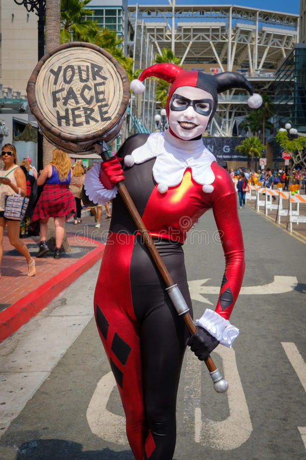 Κωμικός-Con Σαν Ντιέγκο, Καλιφόρνια στοκ εικόνες