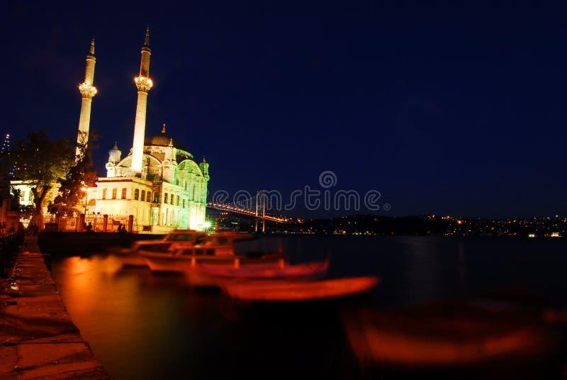 Κωνσταντινούπολη ortakoy στοκ εικόνα με δικαίωμα ελεύθερης χρήσης