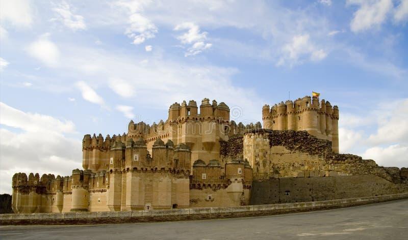 κόκα de castillo 2 στοκ εικόνα