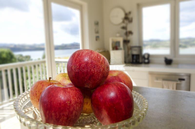 Κόκκινα μήλα στοκ φωτογραφίες με δικαίωμα ελεύθερης χρήσης