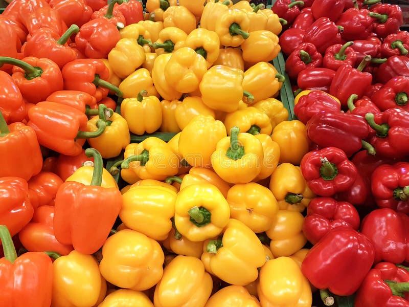 Κόκκινα πιπέρια κουδουνιών στοκ φωτογραφίες με δικαίωμα ελεύθερης χρήσης