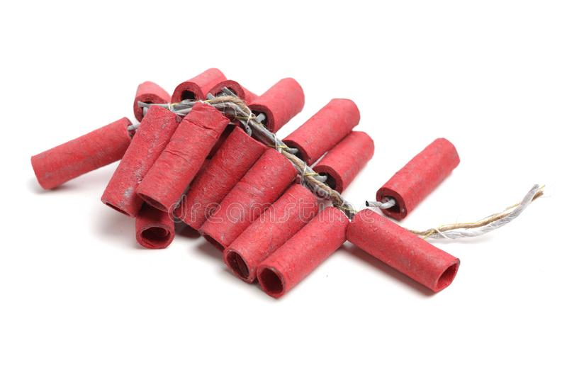 Κόκκινα Firecrackers στοκ εικόνα με δικαίωμα ελεύθερης χρήσης