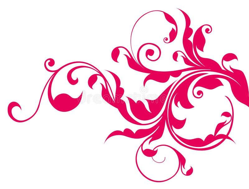κόκκινες άμπελοι προτύπω&nu απεικόνιση αποθεμάτων