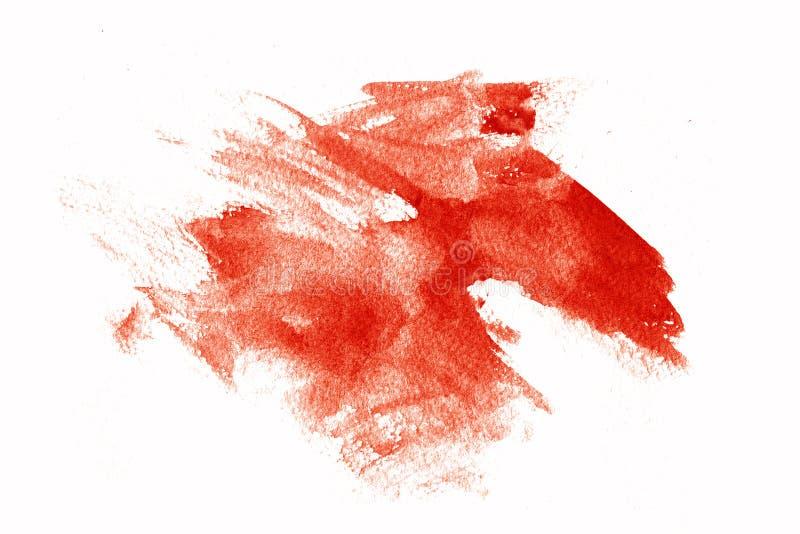 κόκκινες κηλίδες χρωμάτω διανυσματική απεικόνιση
