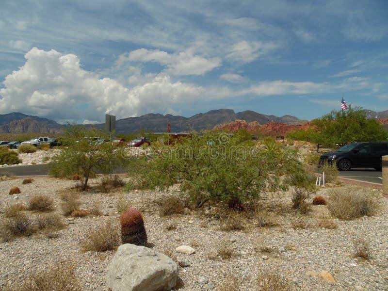 Κόκκινη έρημος Λας Βέγκας φαραγγιών βράχου mohave στοκ φωτογραφία με δικαίωμα ελεύθερης χρήσης