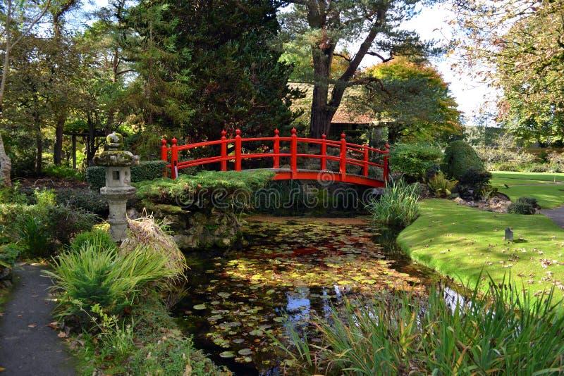 Κόκκινη γέφυρα στοκ φωτογραφία