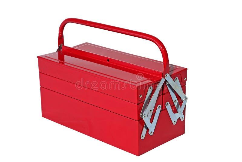 κόκκινη εργαλειοθήκη στοκ φωτογραφία με δικαίωμα ελεύθερης χρήσης