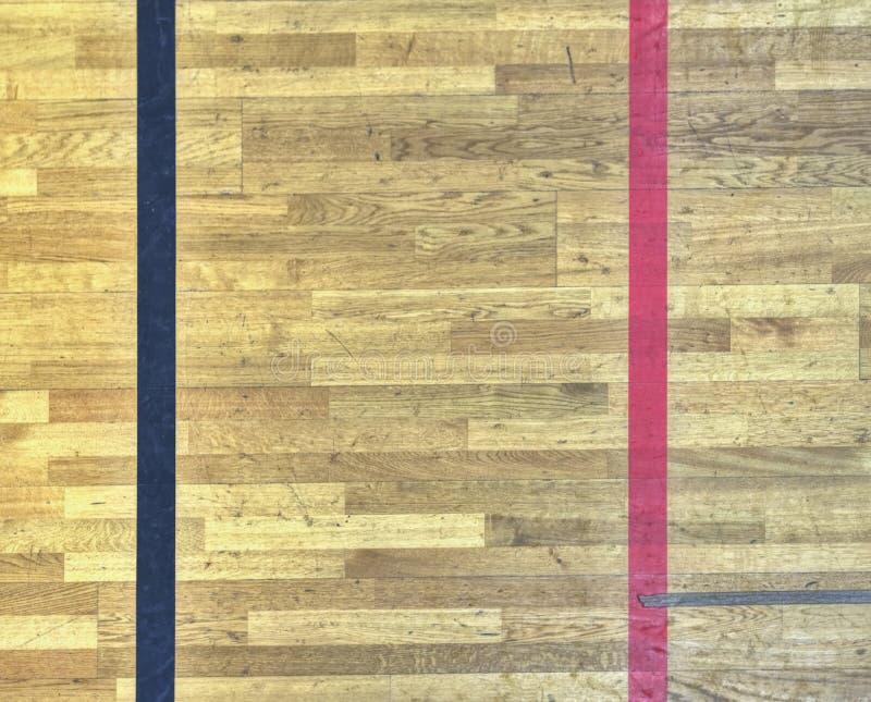 Κόκκινη και μαύρη γραμμή Γήπεδο squash με τη κόκκινη γραμμή απεικόνιση αποθεμάτων