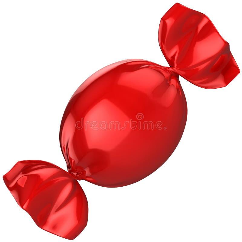Κόκκινη καραμέλα απεικόνιση αποθεμάτων